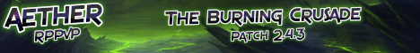 Aether The Burning Crusade 2.4.3